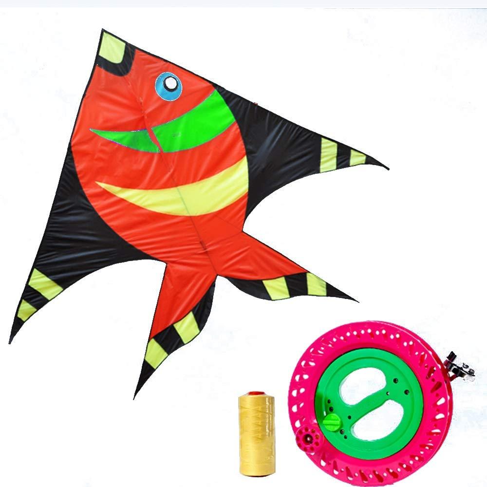 凧,カイトフライング : 大人用大型子供用そよ風凧、プロ初心者用凧(リール付) 屋外のおもちゃを飛ばすのが簡単 (色 (色 : D) B07QXCR4ZV P P P, ヤナハラチョウ:232e9349 --- ferraridentalclinic.com.lb