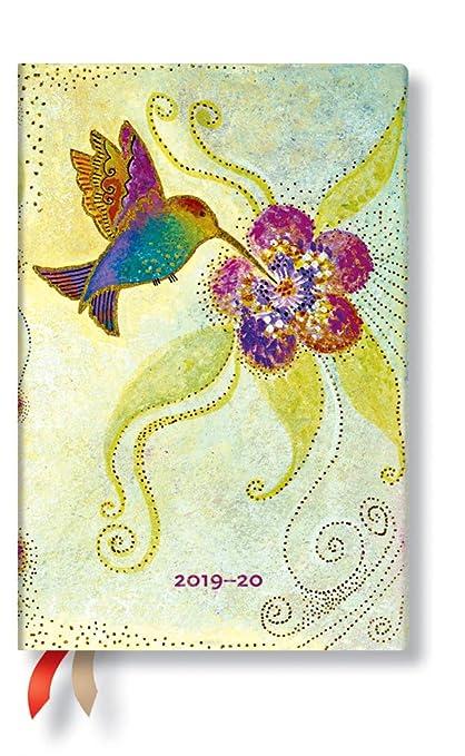 Dezember 2020 Kolibri Woche f/ür Woche horizontal 140 x 95 mm Juli 2019   Mini Paperblanks 18-Monats-Planer /& Kalender