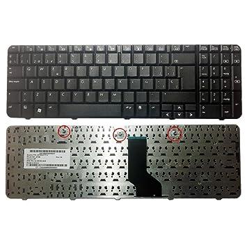 Teclado para Portatil Hp Compaq CQ60 Presario G60 Teclado en español: Amazon.es: Electrónica