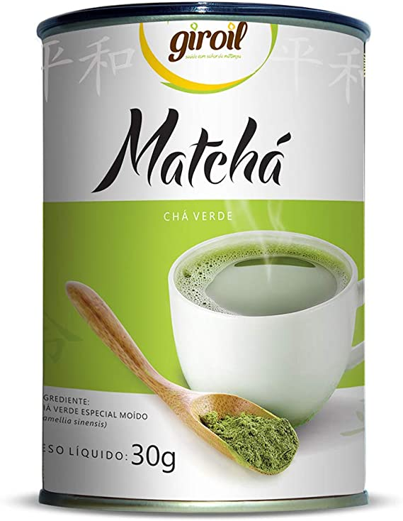 Matchá Giroil (Chá Verde Especial Moído) - 30g, Giroil