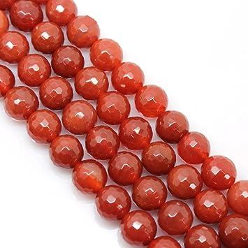 1 Strang Achat Perlen 90 cm