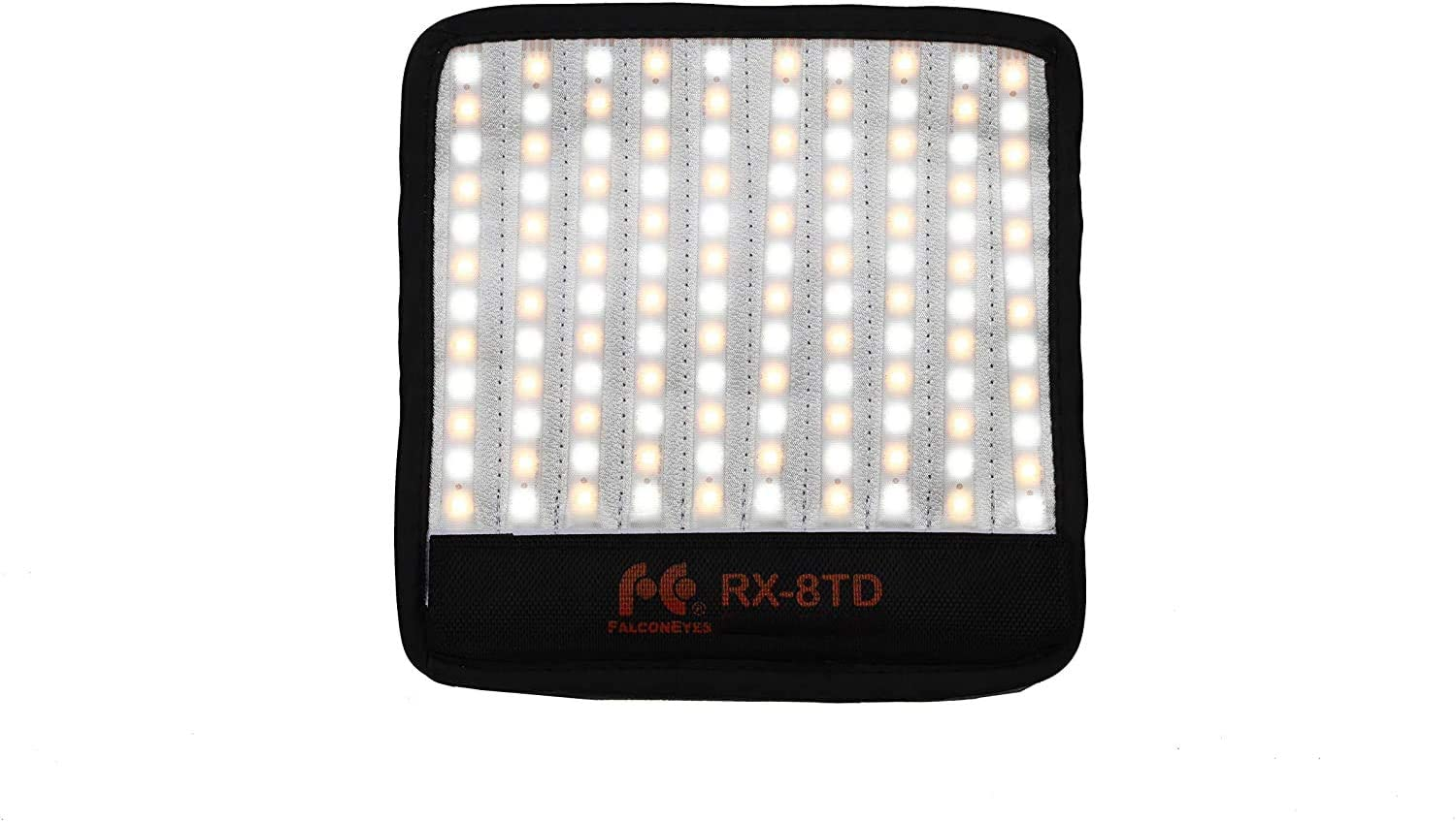 18W Flexible LED Light Panel CR95 3000-5600K Bi-Color Roll-Flex Macro Soft Photography Lighting on-Camera with Ball Head for Video Portrait Studio Shooting Falconeyes