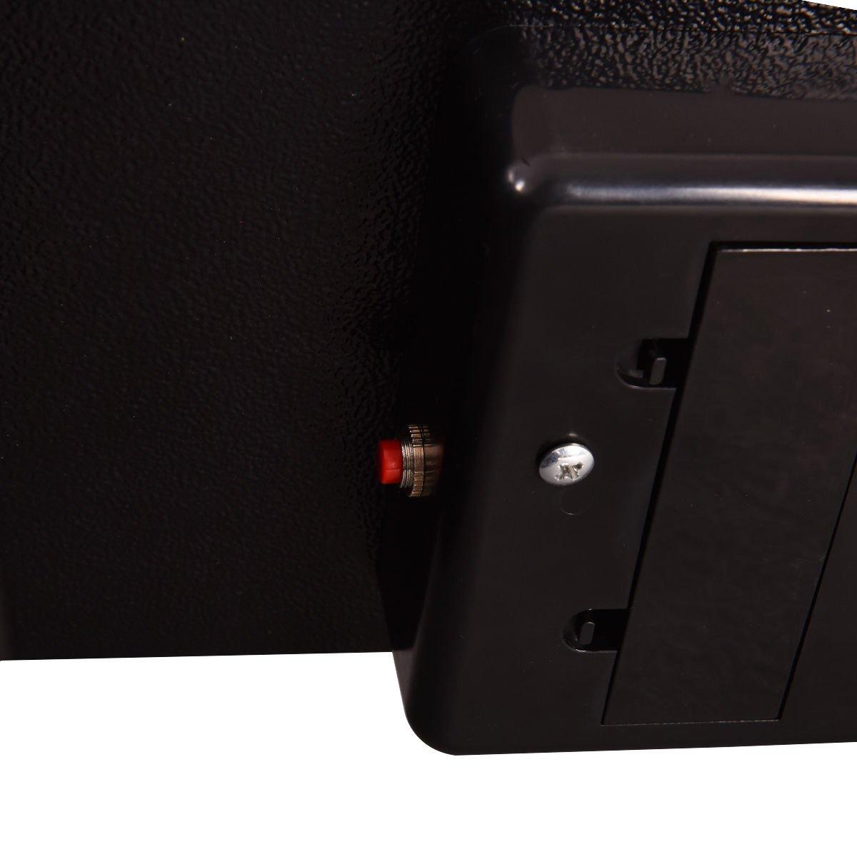 BS Fingerprint: 15.7 x 15.7 x 7.8 Safstar Cabinet Safes Biometric Fingerprint Electronic Digital Keypad Lock Security Box for Cash Jewelry Passport Guns Collectibles
