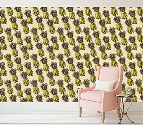 retro-pineapple-peel-and-stick-wallpaper-adhesive-vinyl-wallpaper-pattern-wallscape-removable-wallpa