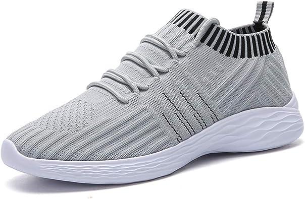 Zapatillas de Deporte con Correa Cruzada para Mujer Calcetines Transpirables livianos Zapatos Deportivos Casuales Zapatos Deportivos para Correr Zapatillas Deportivas de Moda: Amazon.es: Zapatos y complementos