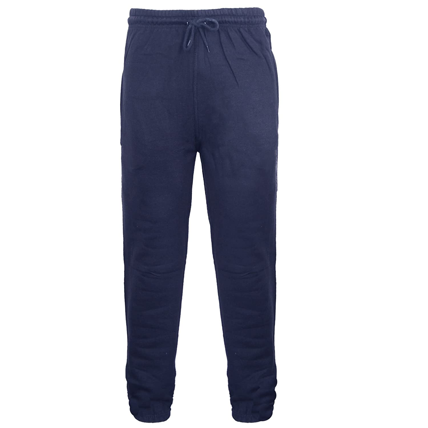 Mens Fleece Jogging Tracksuit Bottoms Pants Trousers Sizes S, M, L , XL, XXL ,PLUS BIG SIZES 3XL 4XL 5XL 6XL 3/4 LENGTH AVAILABLE