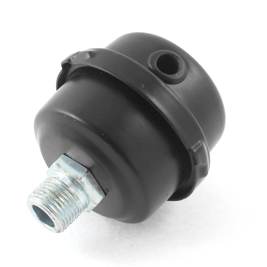Metal Aire Compresor Admisi/ón Filtro Silenciador Silenciador 3//8BSP 16mm Rosca