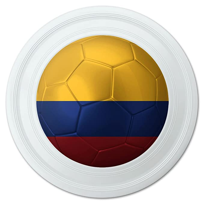 Bandera de Colombia de balón de fútbol Futbol fútbol novedad 9 ...
