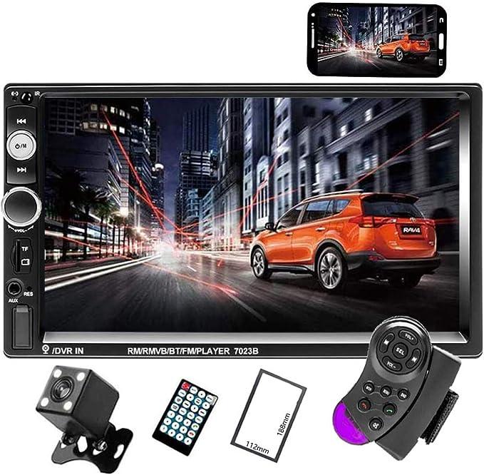 Camecho Double Din Car Radio Audio Bluetooth Touch Mp5 Elektronik