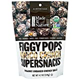 Made in Nature Fig Pops Chocolate Crunchy Organic, 4.2 oz
