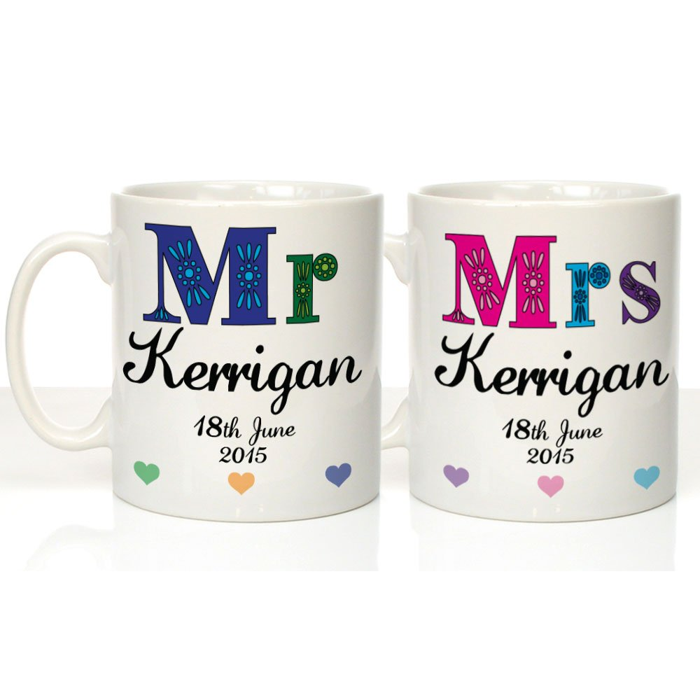 Mr and Mrs Decorative Mugs20th Anniversary Gifts Mr and Mrs 20th Anniversary Mugs Mr and Mrs Gifts 20th Wedding Anniversary Gifts Amazon.co.uk Kitchen ...  sc 1 st  Amazon UK & Mr and Mrs Decorative Mugs:20th Anniversary Gifts Mr and Mrs 20th ...