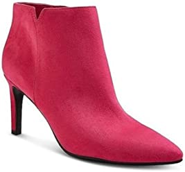 Sam & Libby Womens Audrey Pink Ankle Booties