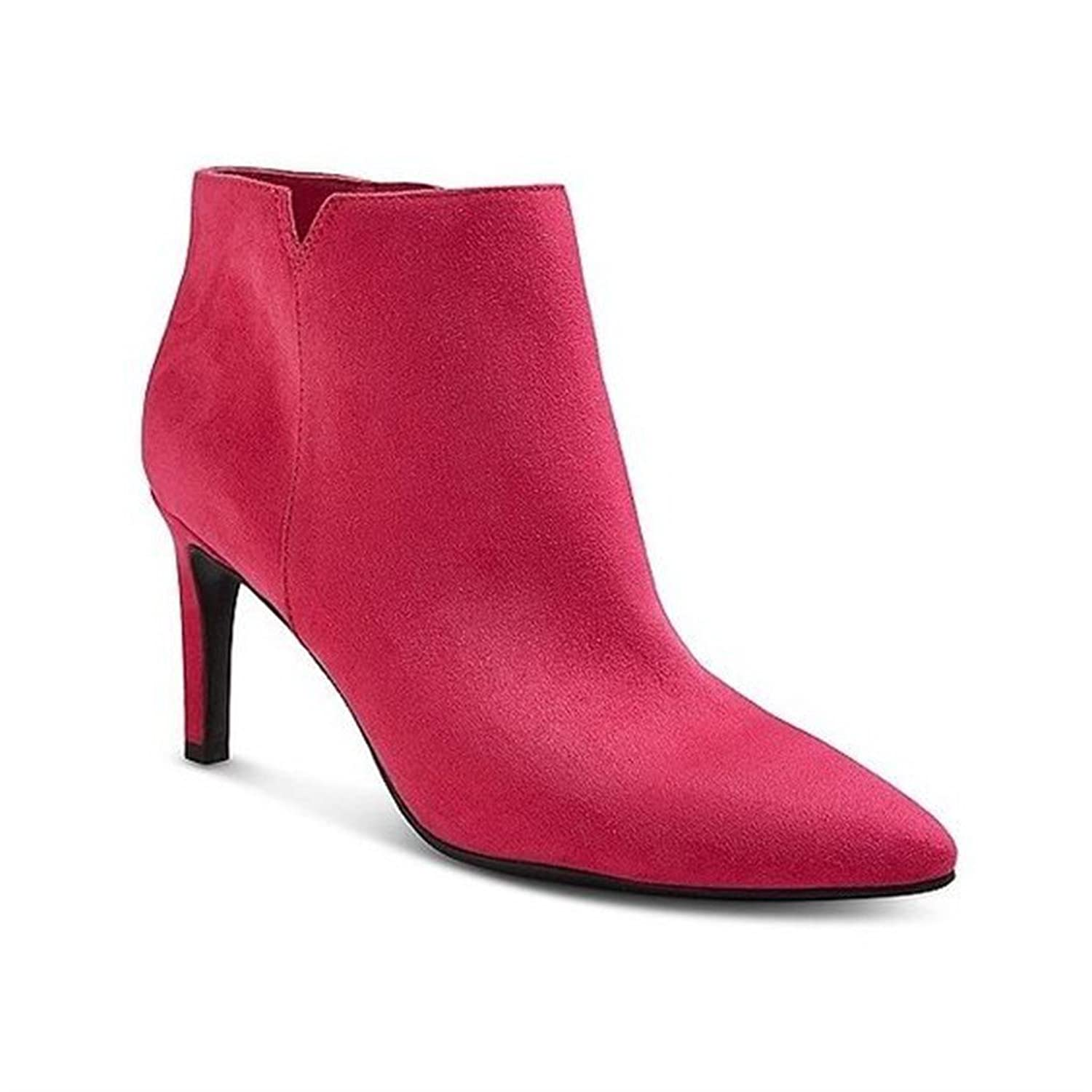Sam & Libby Women's Audrey Pink Ankle Booties