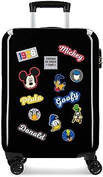 Maleta de cabina Mickey Style letras r/ígida 55cm