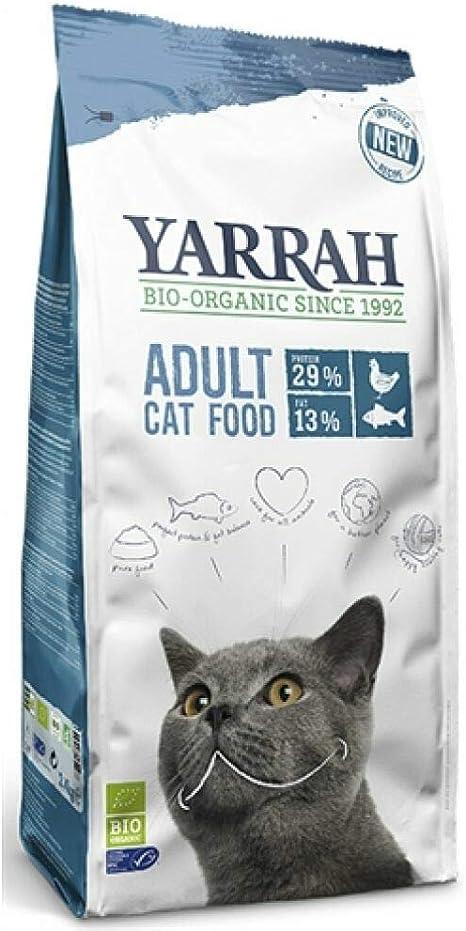 Yarrah Gato Pienso De Pescado con Proteina 2,4Kg. Bio 1 Unidad 2400 g
