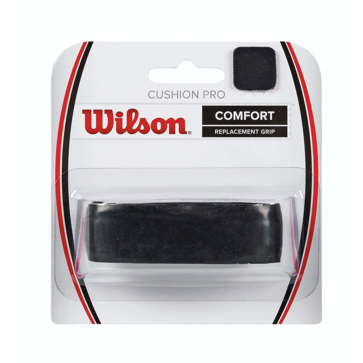 Wilson Cushion Pro Grip, Unisex adulto, Negro, Única WRZ4209BK