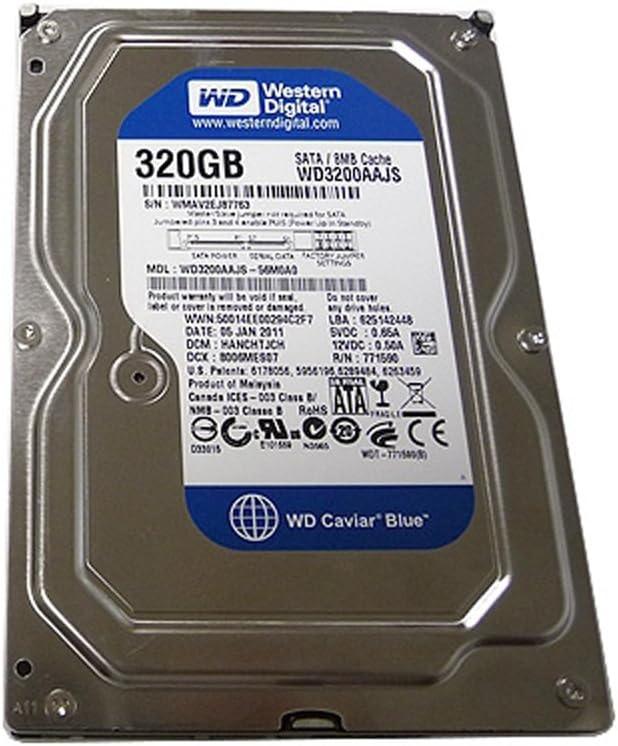 Western Digital WD3200AAJS 320GB Hard Drive