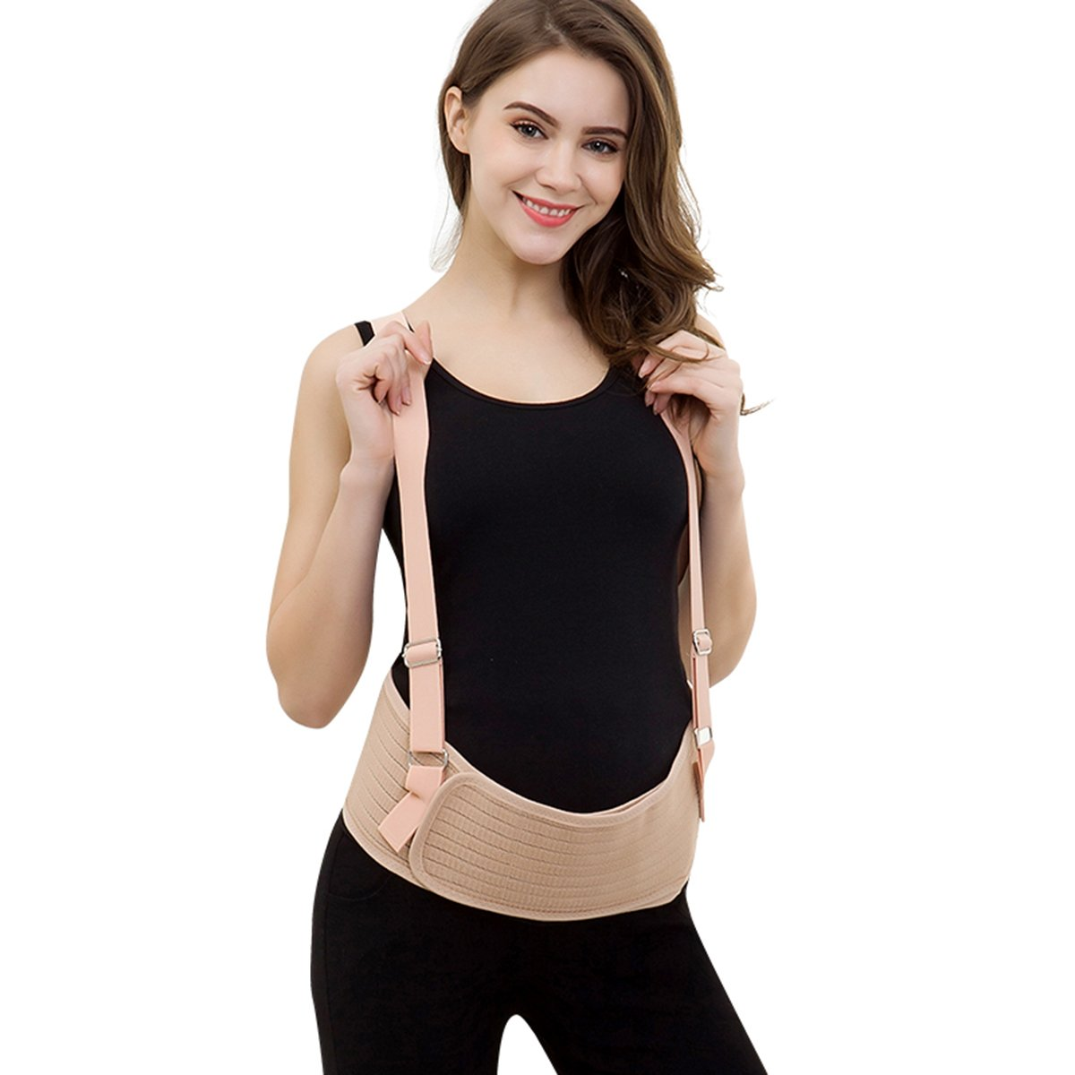 Padgett care Maternity belt for Back Support and Abdominal Pain Relief During Pregnancy,Summer Breathable Lightweight Soft and Adjustable,helps ease the discomfort of pregnancy by supporting your baby