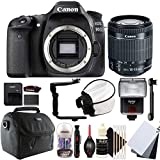 Canon EOS 80D 24.2MP Digital SLR Camera with 18-55mm EF-IS STM Lens and Accessories