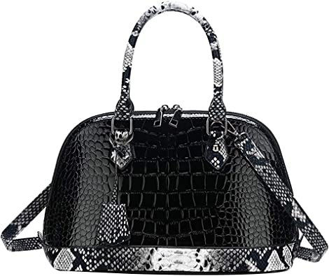 NEW Fashion Women Lady Handbag Satchel Shoulder Hobo Tote Patent Bag Shell Shape