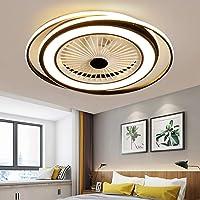 50W LED De La Lámpara Del Ventilador De Techo Tranquila Luz De Techo Con Mando A…