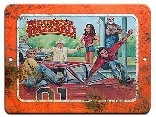 (Dukes of Hazzard Vintage Collectors 9x12 Aluminum Sign Wall Art)