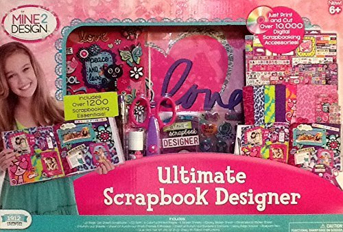 (2014 Mine 2 Design ~ Ultimate Scrapbook Designer ~ 1200+ Pieces ~ Youth Activity)