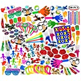 Super Jumbo Toy Assortment Includes A Vast Variety Of Over 200 Toys And Prizes For Parties, School Classroom Rewards, Carnival Prizes, Doctors/Dentists Office Prize Box Fillers (Sold By Smile Novelty)