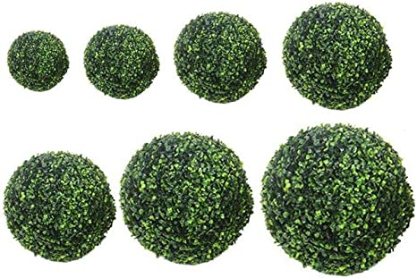 Artificial Fake Plant Ball Topiary Tree Boxwood Home Wedding Party Decoration