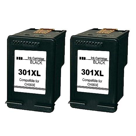 Ksera Remanufacturado HP 301 XL HP 301 Cartuchos de Tinta de Alto ...