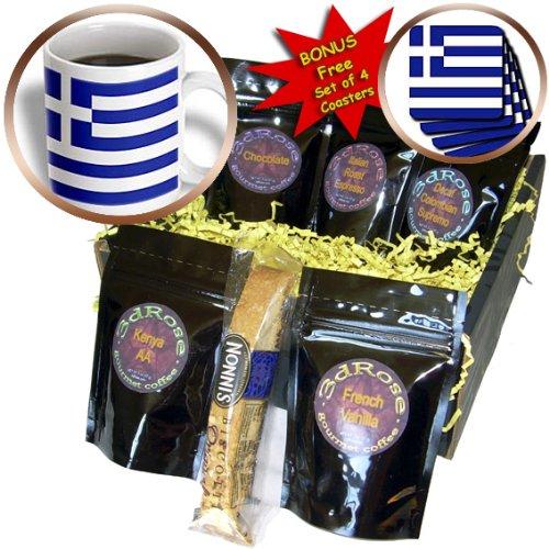 Flags - Greek Flag - Coffee Gift Baskets - Coffee Gift Basket (cgb_4562_1)