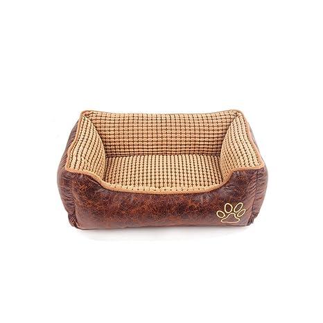 YNZYOG Nido de mascotas desmontable de limpieza Teddy Bear Xiong Jin Mao Samoye cama de perro