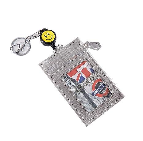 Amazon.com: AYHU Llavero Cartera Cartera Tarjeta Badge ...