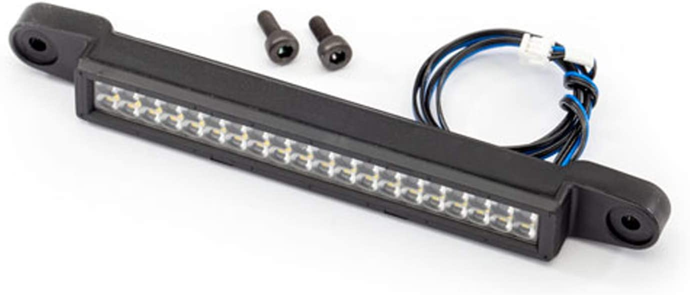 High-Voltage Double Row 82mm Wide Traxxas 7884 FR LED Light Bar 40 White LEDs