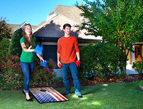 Wild Sports 2'x3' Stars & Stripes Cornhole Set