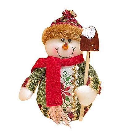 santa claus snow man moose doll christmas decorations xmas tree gadgets ornaments doll christmas 1pc