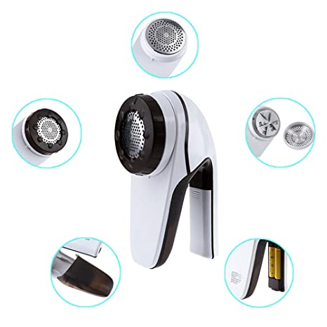 Amazon.com: Fanme Electric Lint Remover Sweater Pills Shaver Fabric Fuzz Removing Device for Cashmere Wool Legging Couch Furniture Curtains Clothes Carpet ...