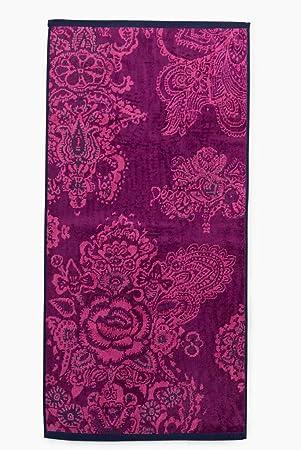 Desigual Toalla Ducha Jacq Boho, algodón Jeans Purpura Imperial, 150 x 95 x 0,5 cm: Amazon.es: Hogar
