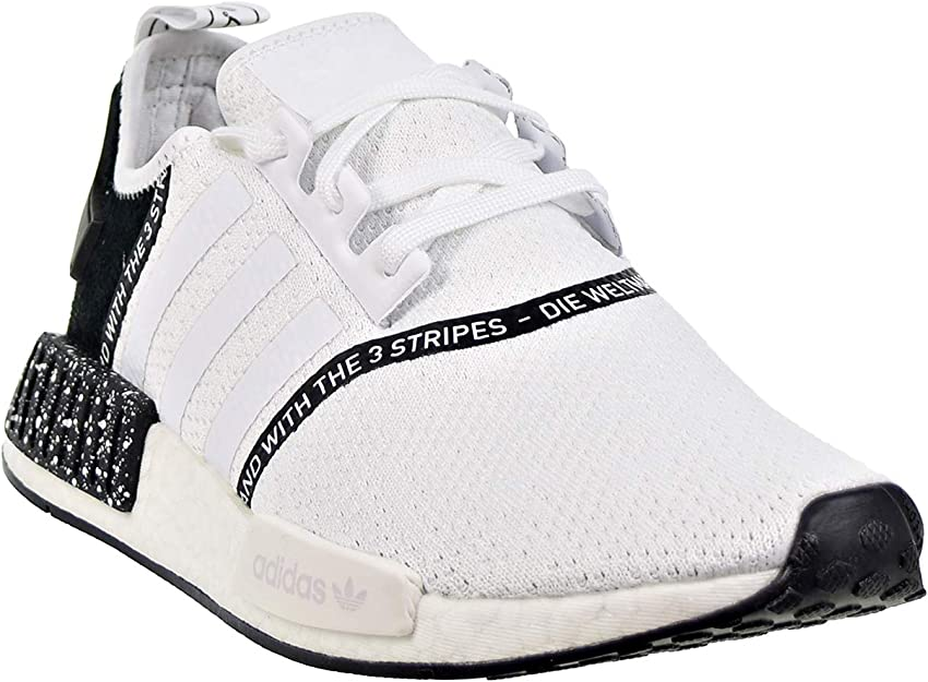 Amazon Com Adidas Nmd R1 Men S Shoes Cloud White Core Black