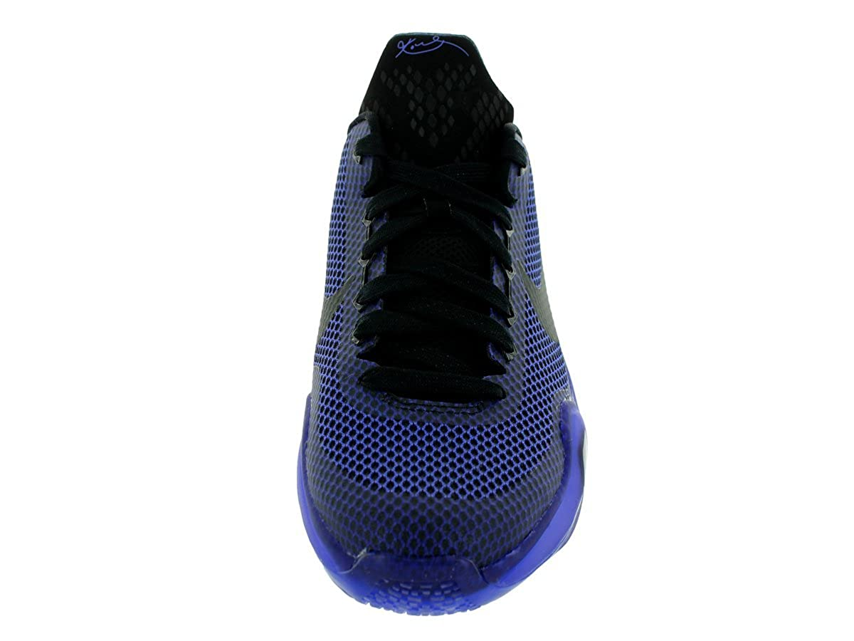 6bde10e32115 Nike Kids Kobe X (GS) Black Black Persian Violet VLT Basketball Shoe 7 Kids  US  Amazon.ca  Shoes   Handbags