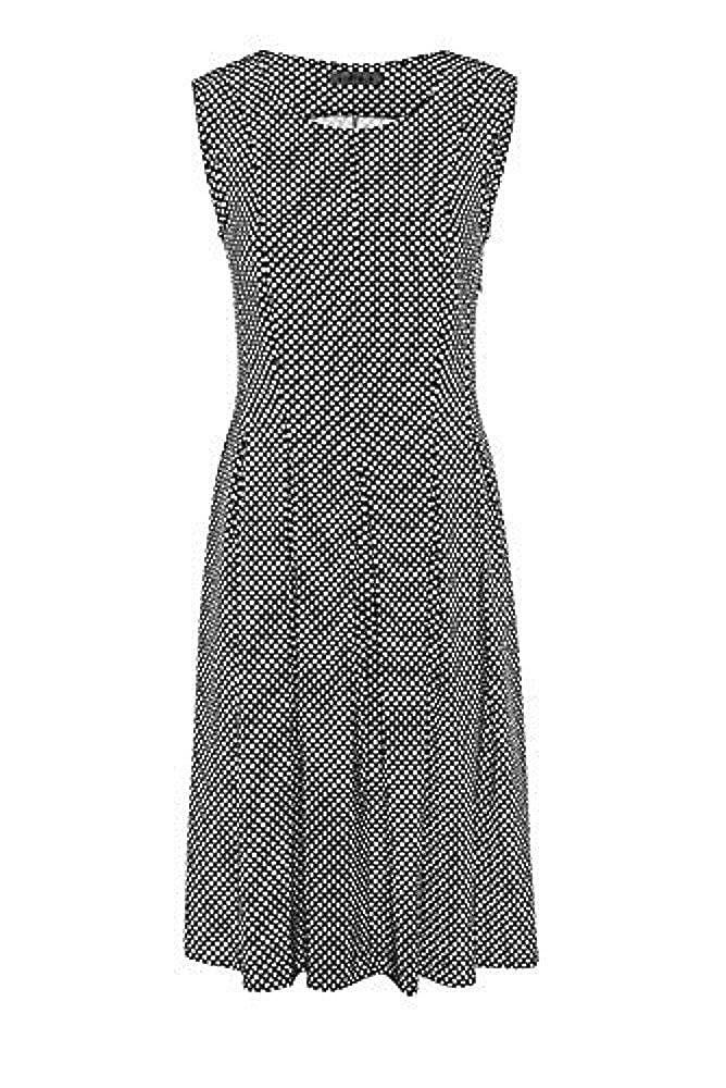 Airfield Schwarz Gepunktetes Kleid