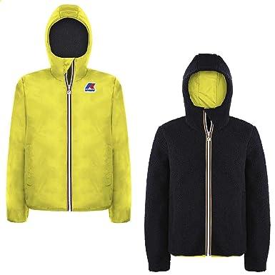e408e5fd214f K-Way K009M90 Manteaux Enfant Jaune 16A  Amazon.fr  Vêtements et accessoires