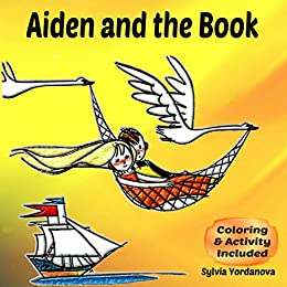 Aiden and the book: Teaching kids to think; Problem solving for confident kids age 5 to 7 by [Yordanova, Sylvia]