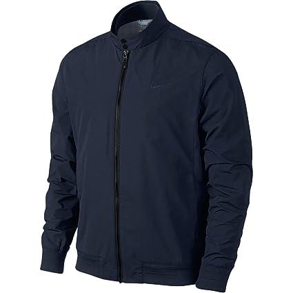 3d59b1069c4e Nike Golf Closeout Men s Range Harrington Jacket (Dark Obsidian) was  140  ...