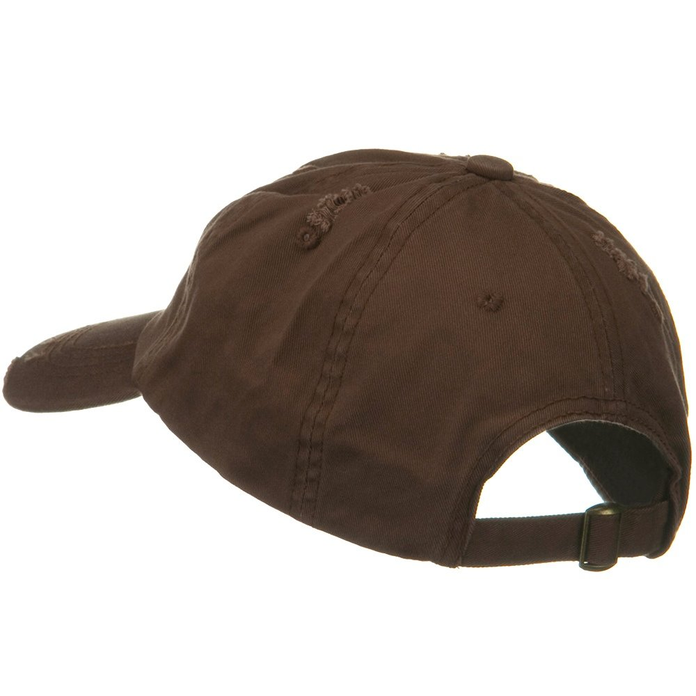 Vintage Cotton Polo Cap - Brown at Amazon Men s Clothing store  60dfce20aa7