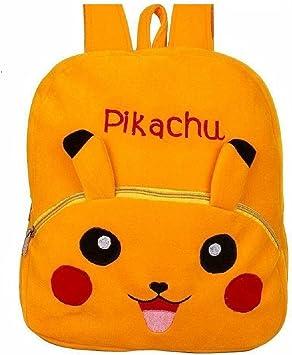 Blue Tree Toys Pikachu School Bag Backpack for Kids Boys/Girls (Yellow)