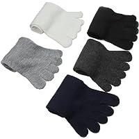 Malloom® 5 Pares Moda Hombres Cinco Dedos Calcetines