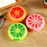 Nahe Weekly Pill Box 3 Times 7 Compartments Large Medicine Organizer 2Pcs (style 1)