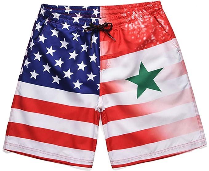 Ocean Pantalones Plus Rápido Secado Hombre Shorts Cortos De Baño WH2YeED9I