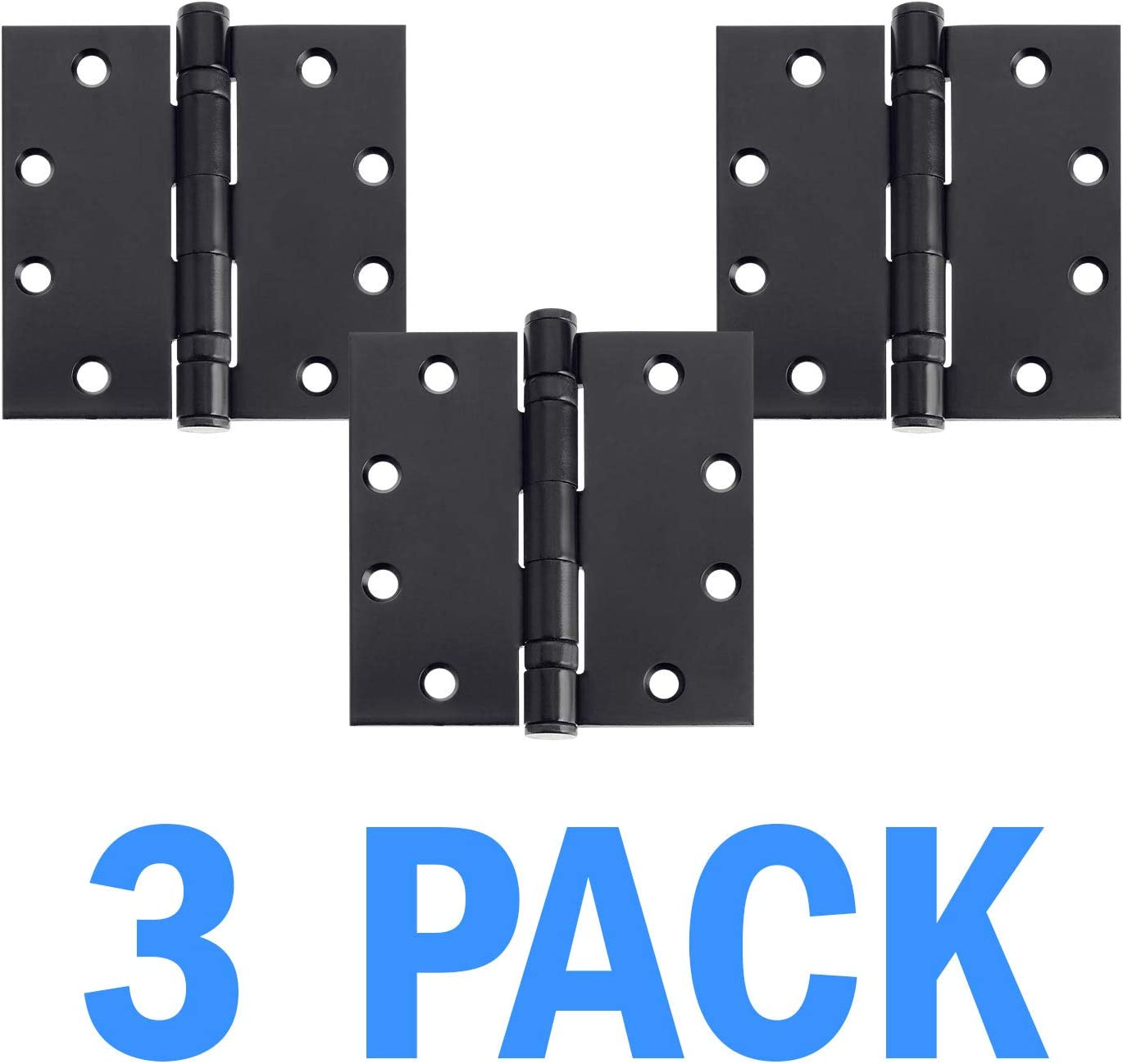 Nuk3y Commercial Grade Ball Bearing Pack Removable Pin Door Hinge 4-1//2 x 4-1//2-3 Oiled Rubbed Bronze